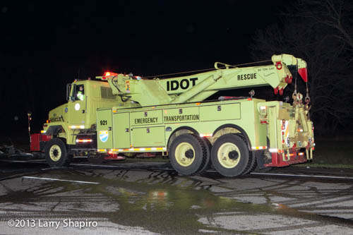 IDOT heavy-duty wrecker