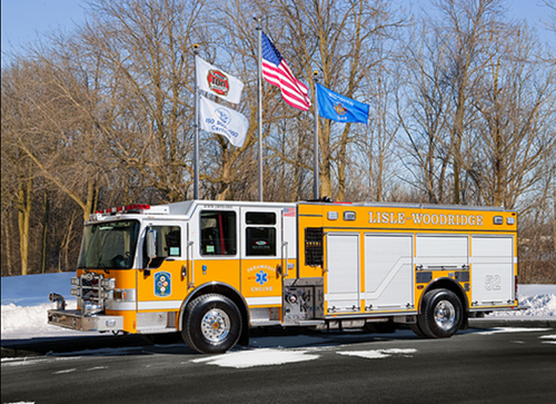 Lisle Woodridge FPD gets new engine
