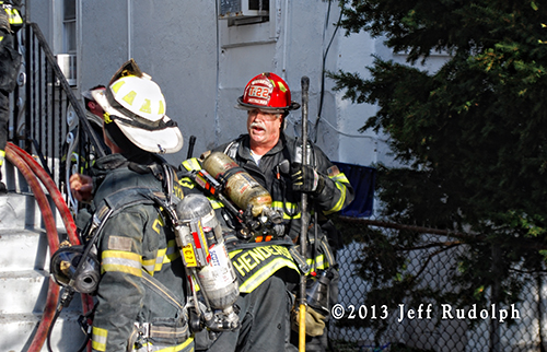 Evanston firefighters