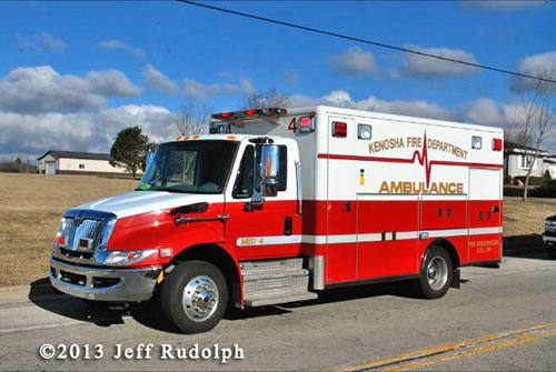 Kenosha FD ambulance