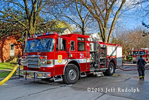 Evanston FD Engine 25