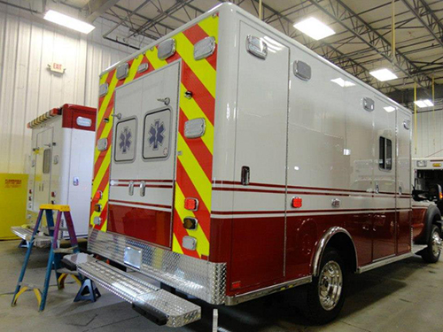 new Spring Grove ambulance