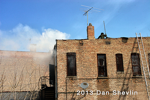 Chicago building fire 4-21-13
