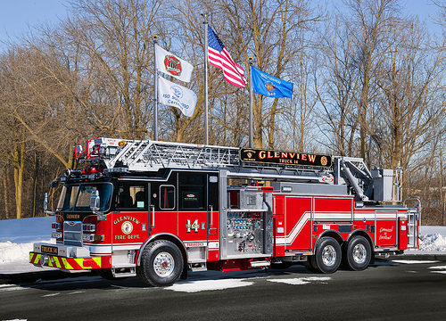 Glenview Fire Department Truck 14
