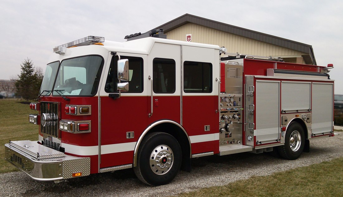 Sutphen demo pumper for Gary Indiana