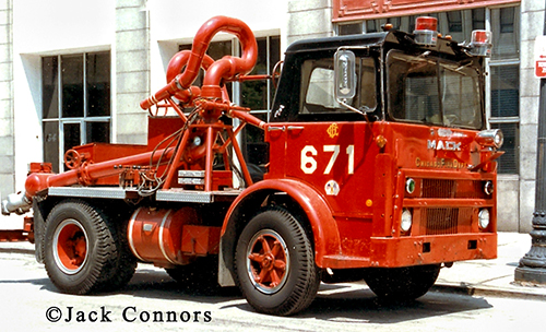Chicago FD Turret Wagon 671