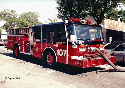 Chicago FD Engine  107