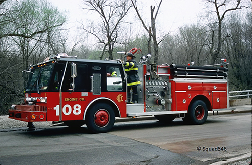 Chicago FD Engine  108