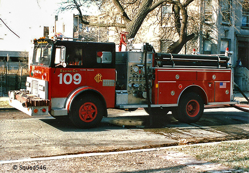 Chicago FD Engine  109