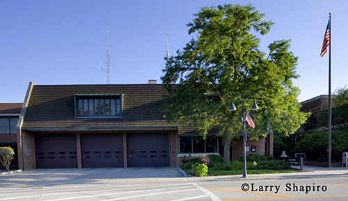 Glenview Fire Department headquarters fire station 6