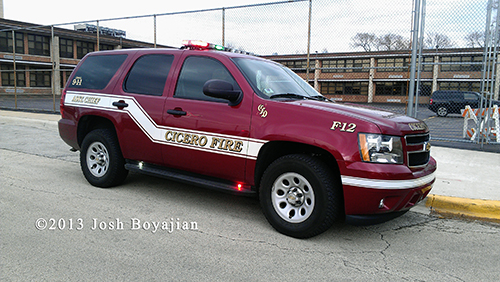 Cicero Fire Chief Car