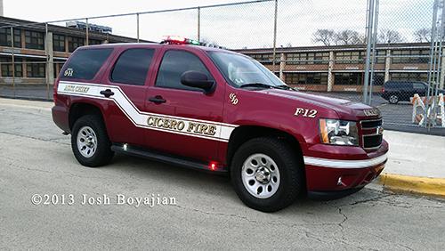 Cicero Fire Chief Car