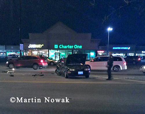 multiple crashes in Bridgeview