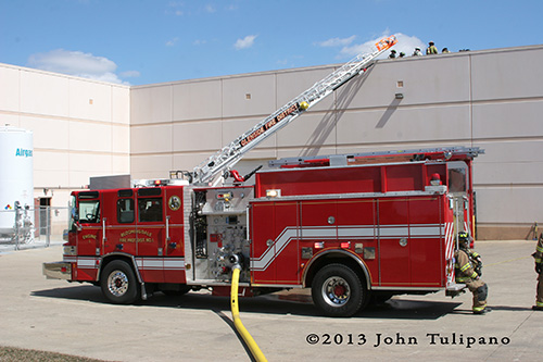 Bloomingdale Fire District engine