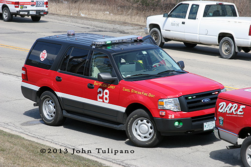 Carol Stream Fire Department Battalion 28