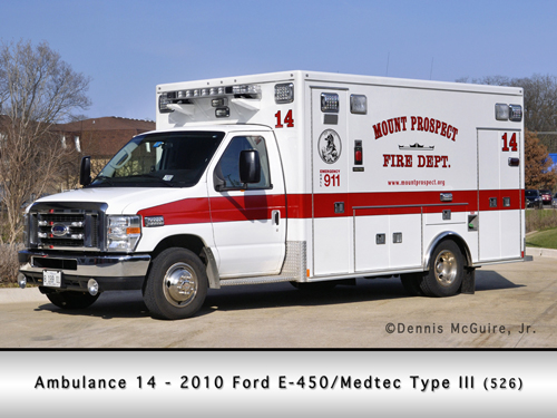 Mount Prospect FD Ambulance 14