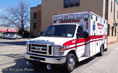 Berwyn FD Ambulance 907