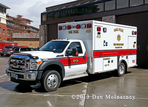 Oak Park FD Ambulance 613