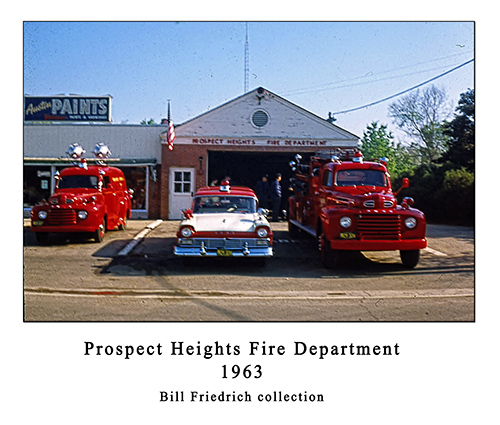 Prospects Fire Department history