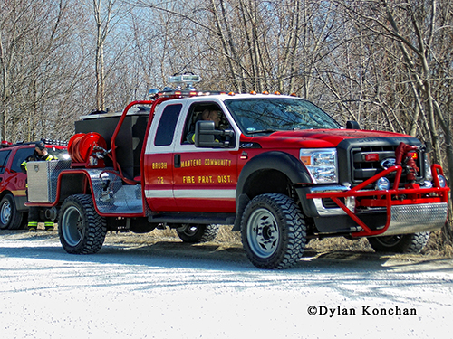 Manteno & Community FPD brush truck