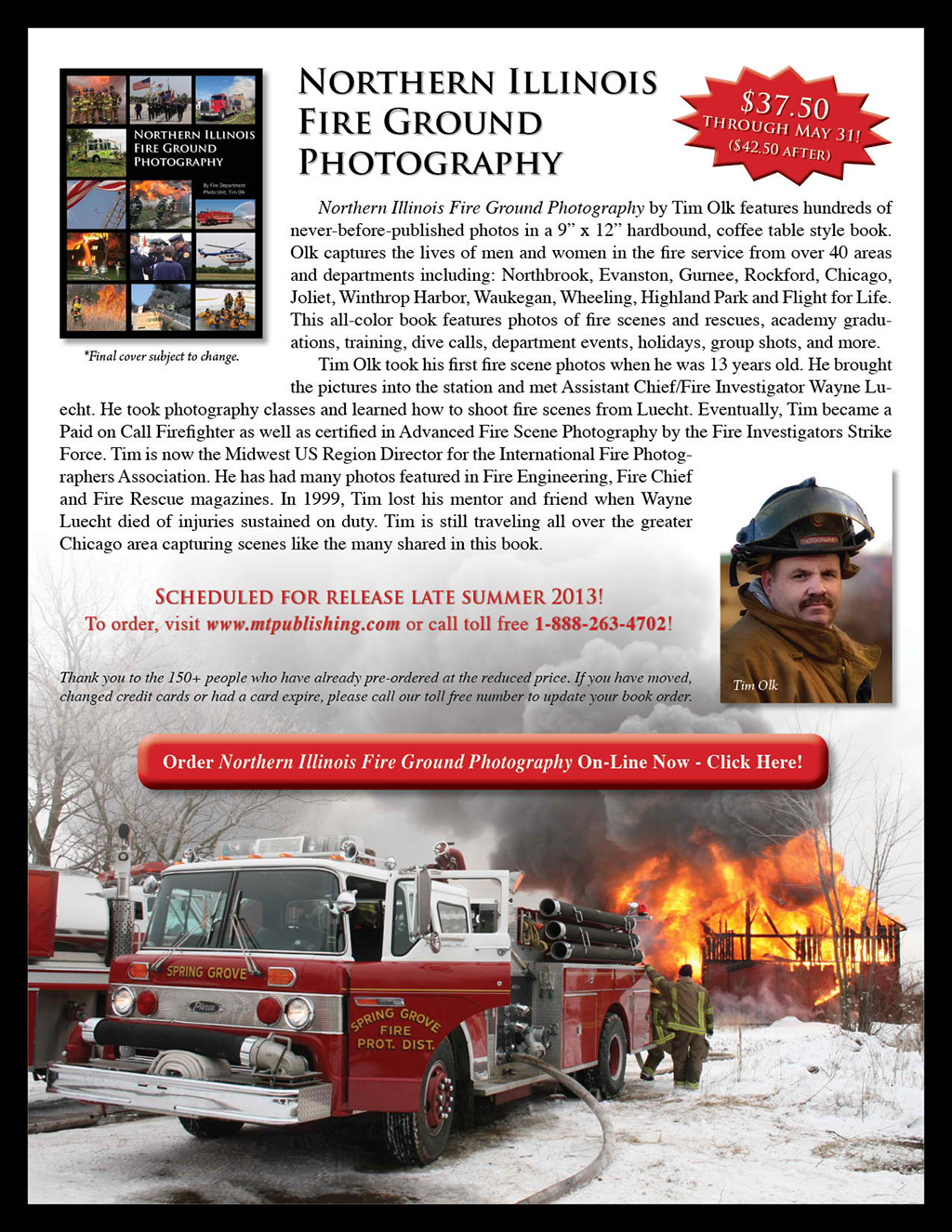 book about northern illinois fire departments