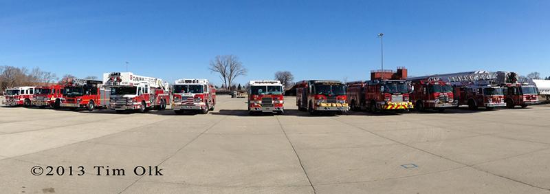 northern Illinois fire trucks