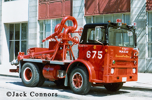 Chicago FD Turret Wagon 675