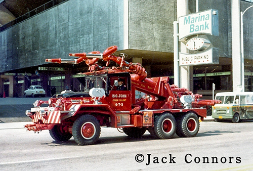 Chicago FD Turret Wagon 6-7-3 Big John