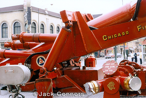 Chicago FD turret wagon Big John 6-7-3