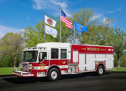 new fire engine for Morris IL