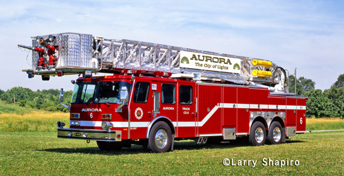 Aurora Fire Department Truck 6