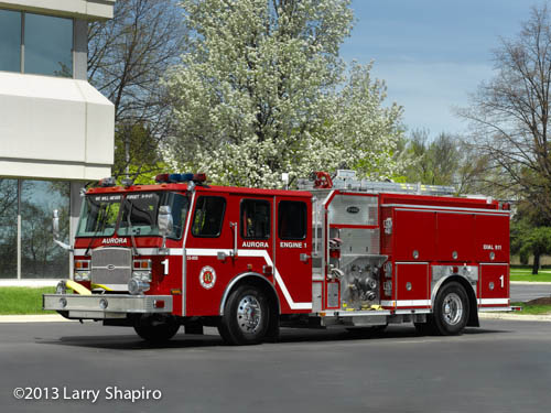 Aurora Fire Department Engine 1