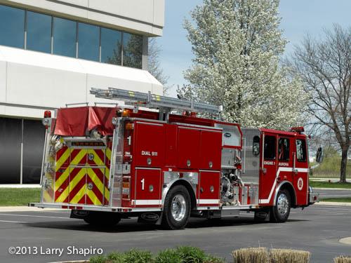 Aurora Fire Department Engine 1