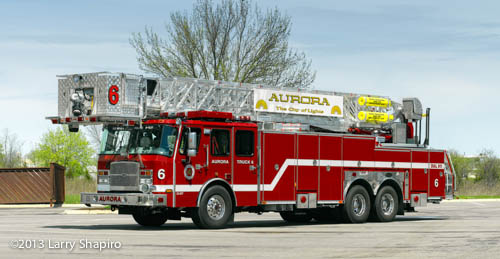 new tower ladder for Aurora FD