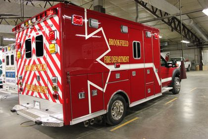 new ambulance for Brookfield IL FD