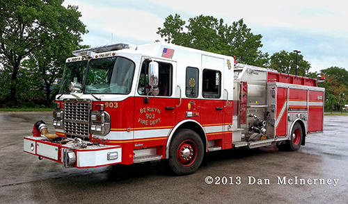 Berwyn FIre Department Engine 903