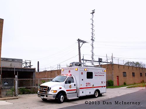 Chicago FD mobile command unit
