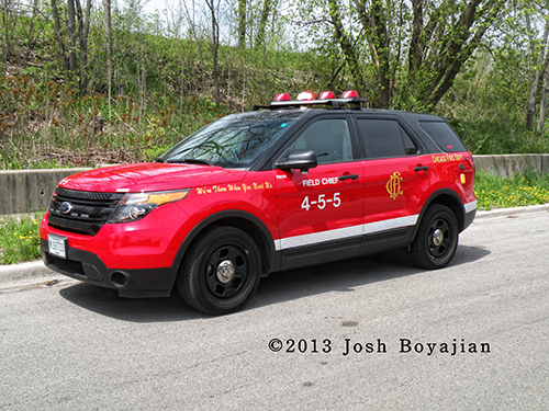 Chicago FD Paramedic Field Chief 4-5-5-