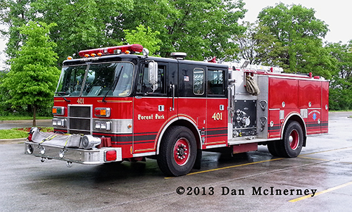 Forest park Fire Department engine 401