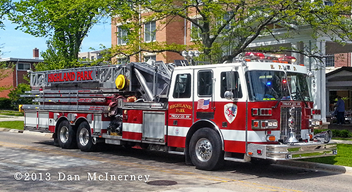 Highland Park Fire Department Truck 33