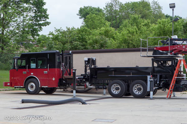 new fire truck for Huntley FPD