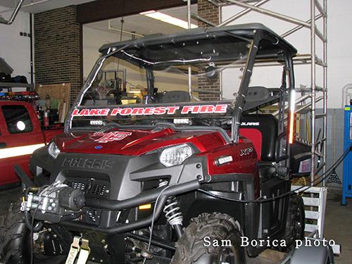 Fire department ATV