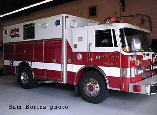 Lake Forest FD squad