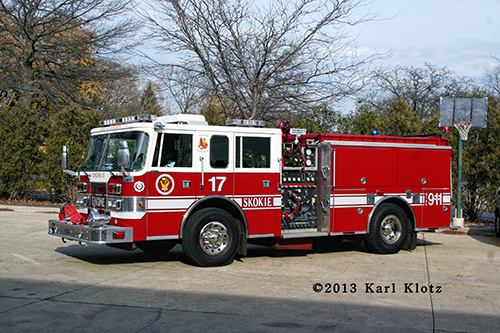 Skokie Fire Department reserve engine
