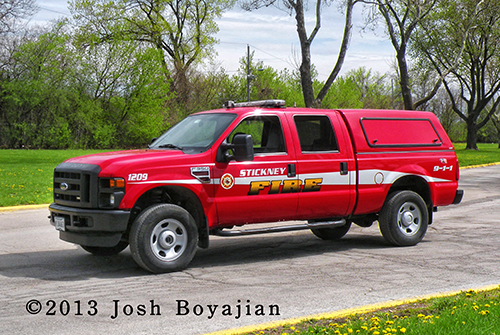 Stickney FD support unit