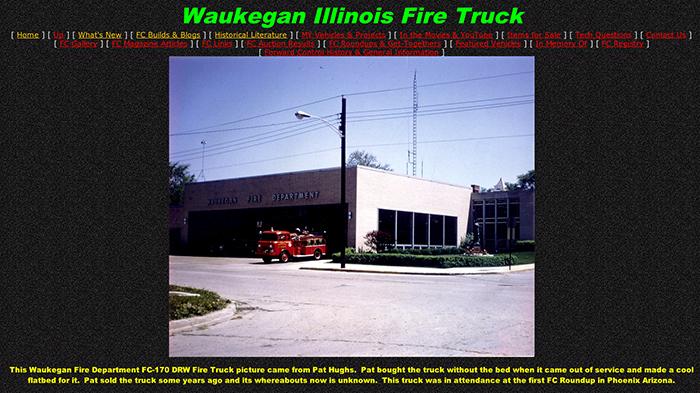 Waukegan FD FC Jeep