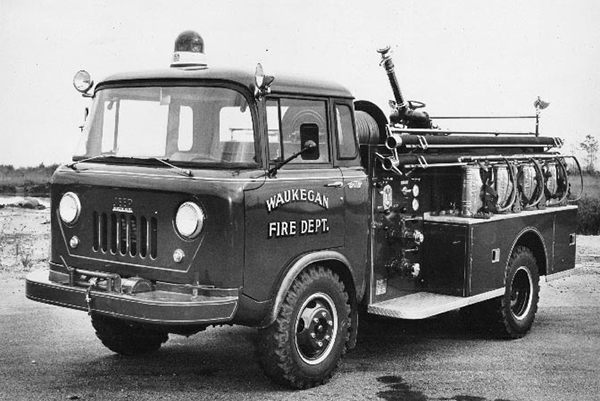 Waukegan Fire Department Jeep FC170DRW