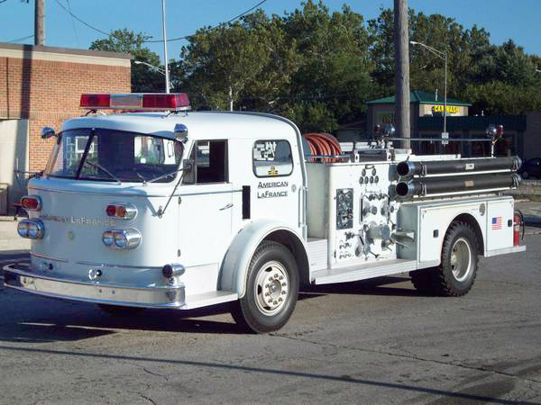 1964 American LaFrance fire engine