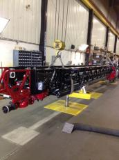 new aerial ladder for fire truck