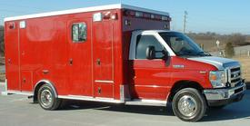 new ambulance for the Antioch Fire Department